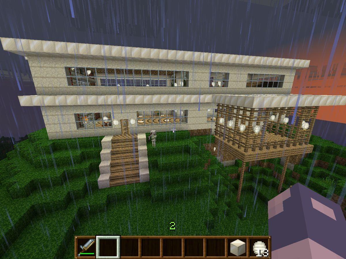 Cool minecraft house