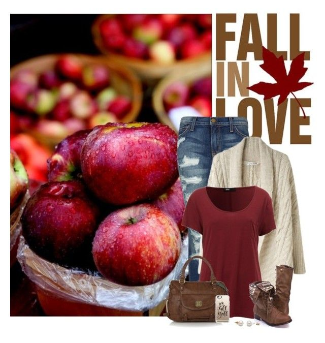 """""""Apple 🍎 Pickin'"""" by cindycook10 ❤ liked on Polyvore featuring Current/Elliott, Tsumori Chisato, Nica and Casetify"""