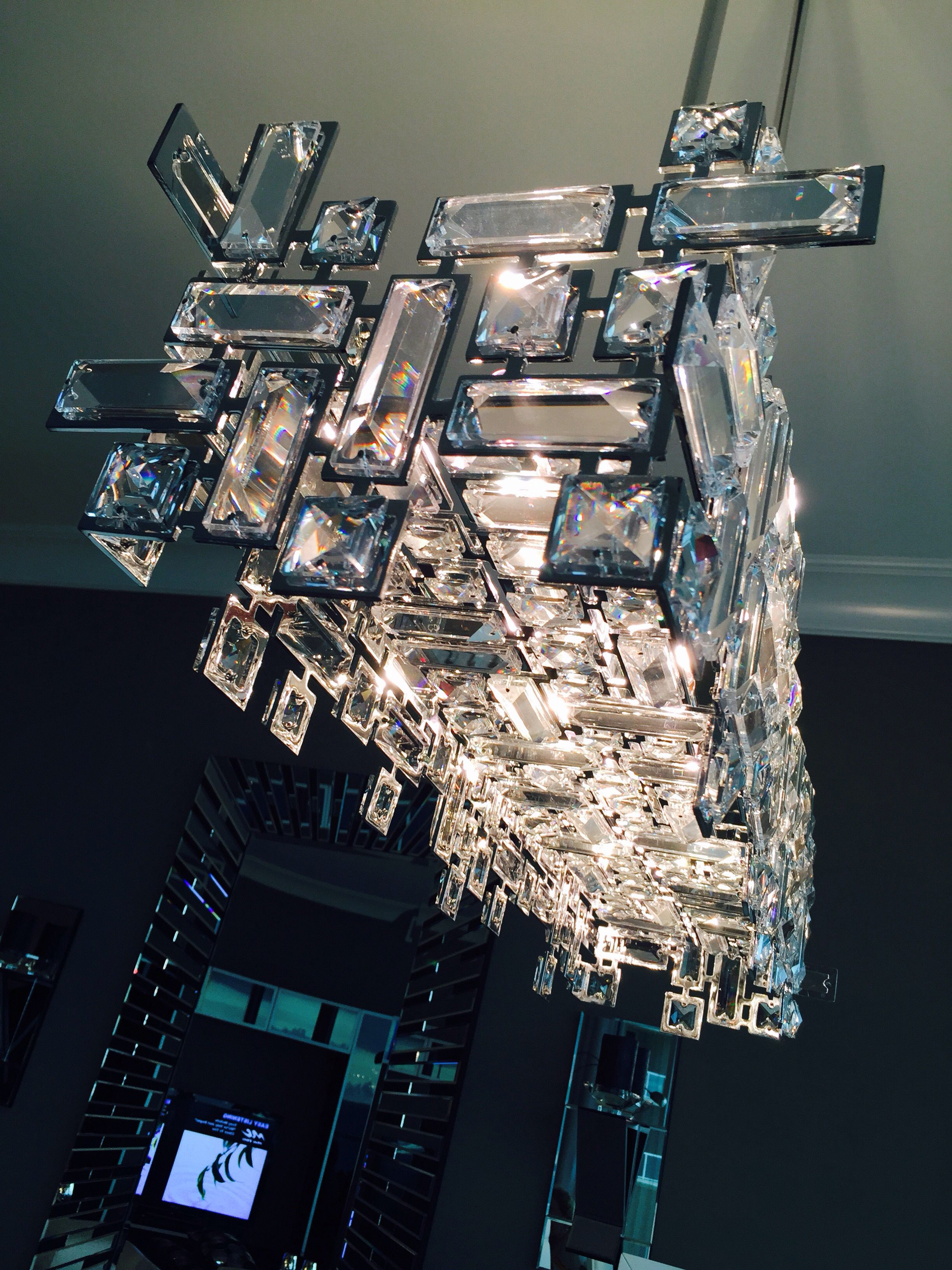 Chandelier. Modern. Elegant. @ Contrast Furniture  18 S Federal Hwy Pompano Beach, FL 33062 (954) 781-2277