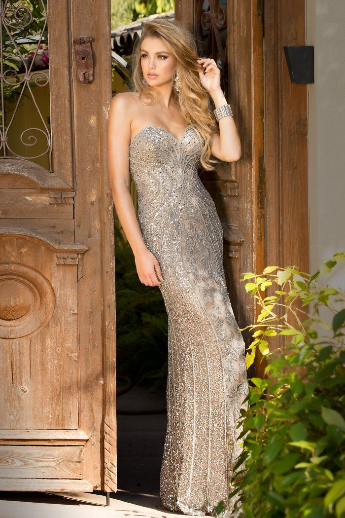 Style 48707 Platinum | Formal Wear | Pinterest | Prom, Teen usa and ...
