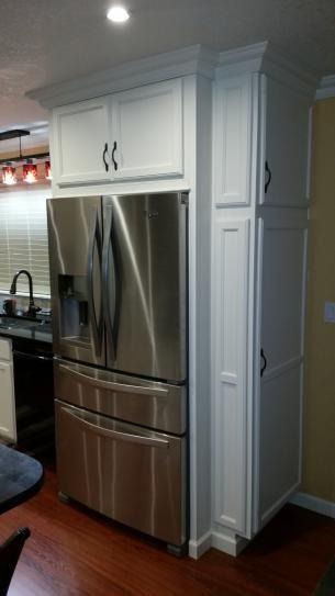 Fridge Side Panel Kitchen Pantry Design Pantry Design Kitchen Layout