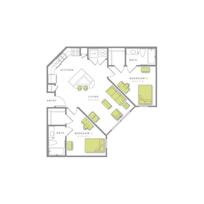 Floorplans Grand Marc at Tallahassee, Student Housing