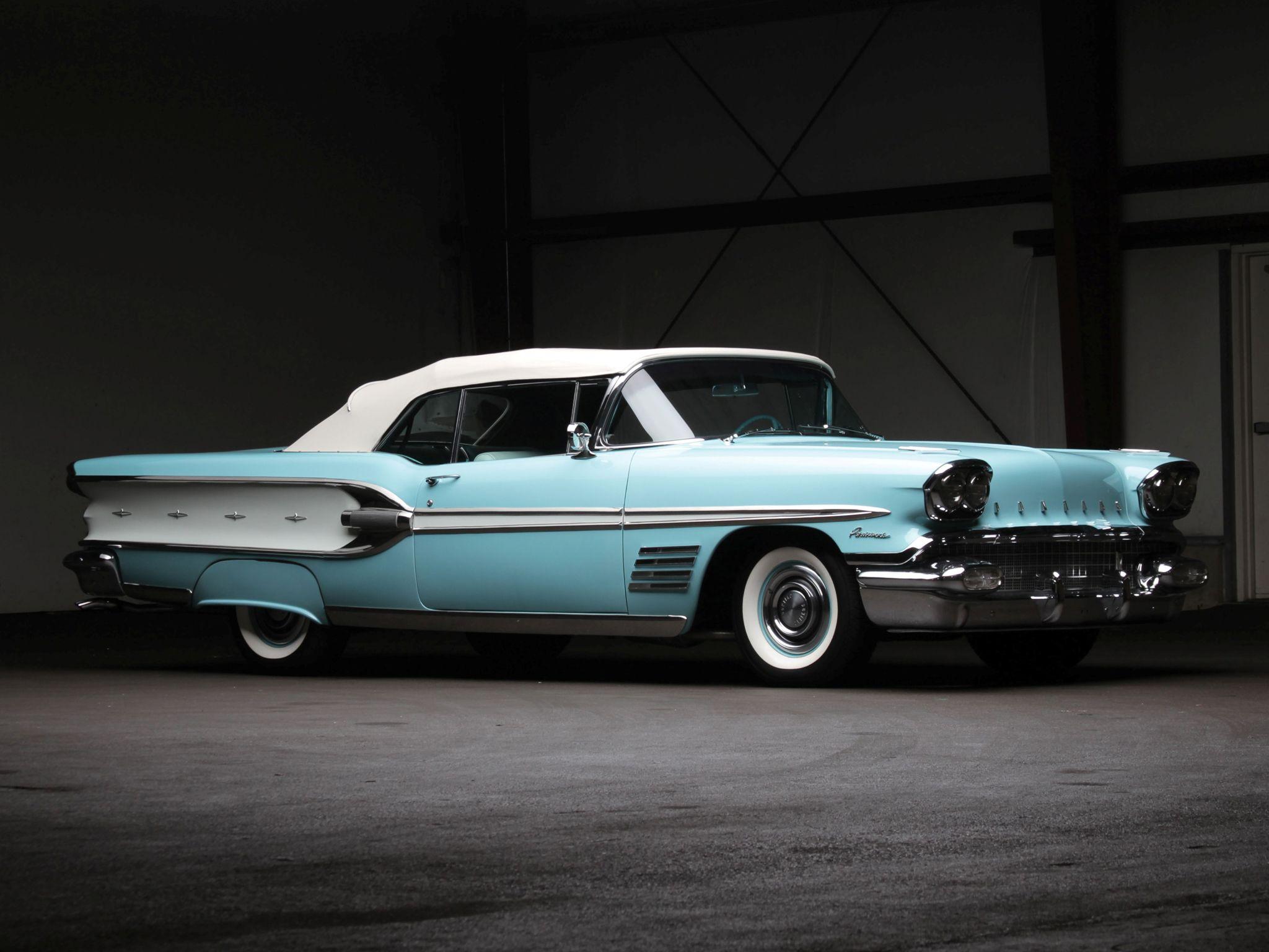 ◇1958 Pontiac Parisienne Convertible◇ | concept cars | Pinterest ...