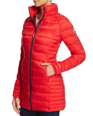 canada goose Lightweight Down Jackets Red Black