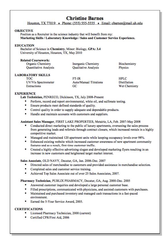 Science Indrustry Recruiter Resume Sample Free Resume Sample Recruiter Resume Resume Template Examples Free Resume Samples