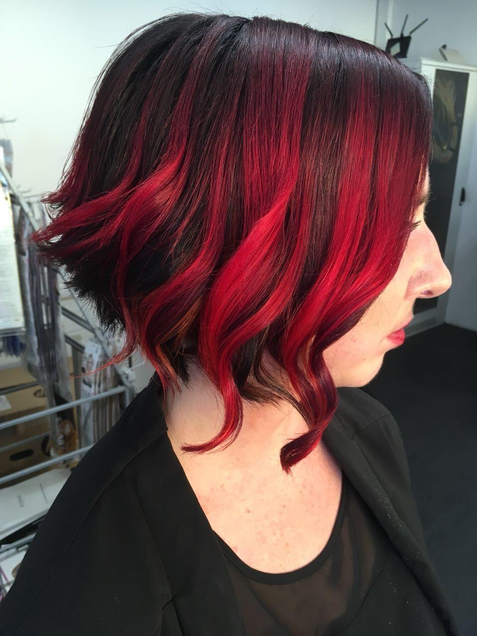 Bob Red Onehead Friseure Rotes Haar Frisuren Langhaar