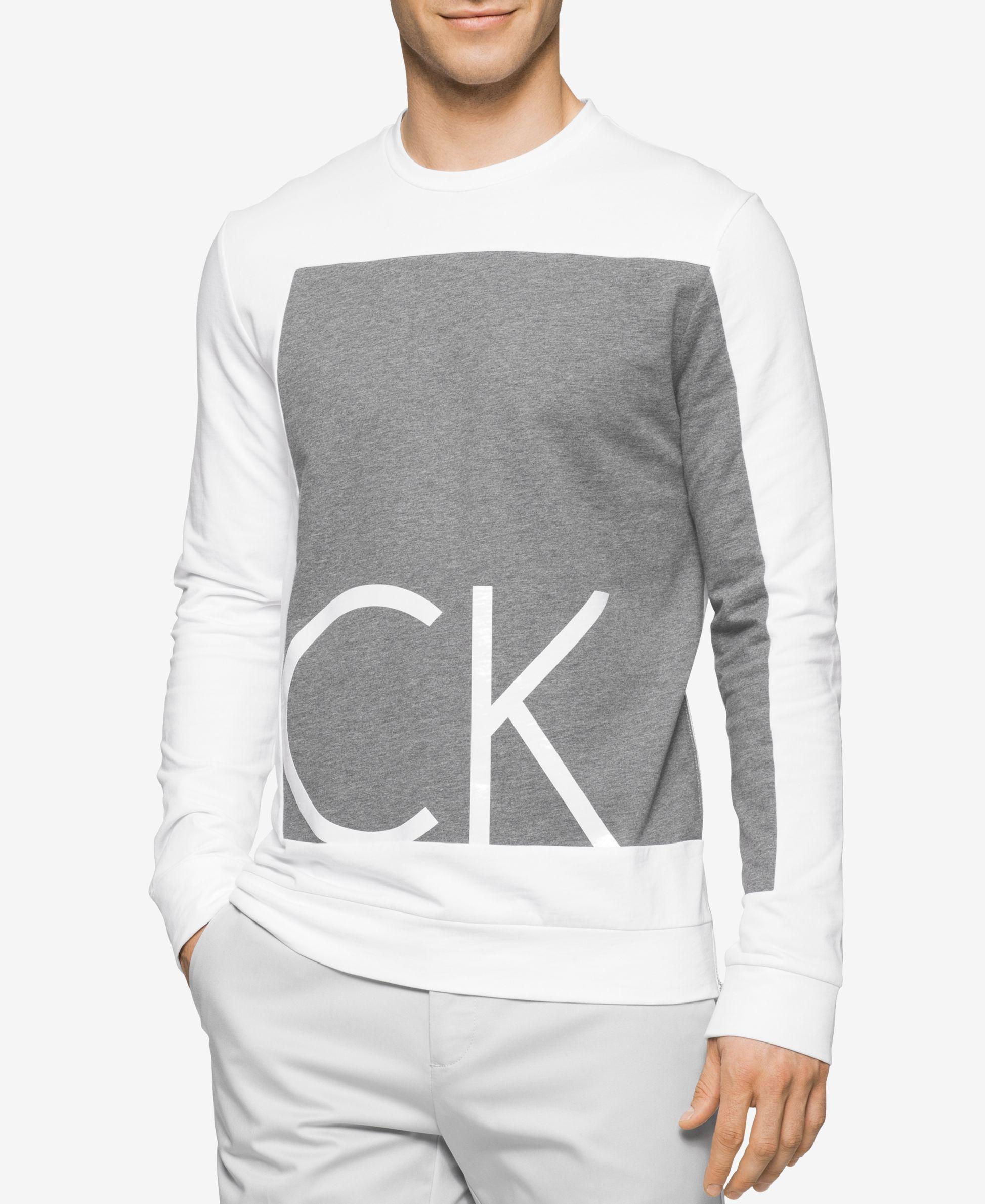 Calvin Klein Men s Slim-Fit Colorblocked Graphic Print Shirt   Levis ... 4e872e1634
