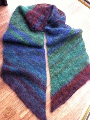 Photo of Shraeg – der einfache Schal / the easy scarf