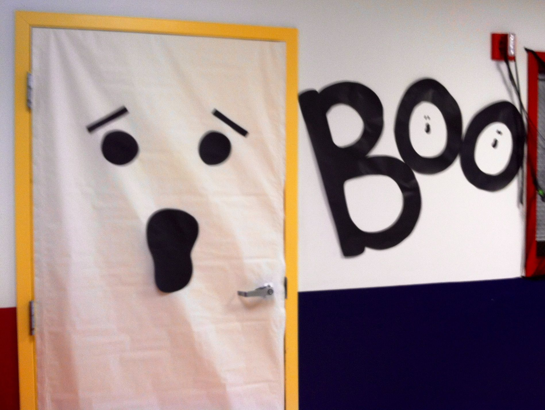 Ghost door at school & Ghost door at school   School Art Projects   Pinterest   School art ...