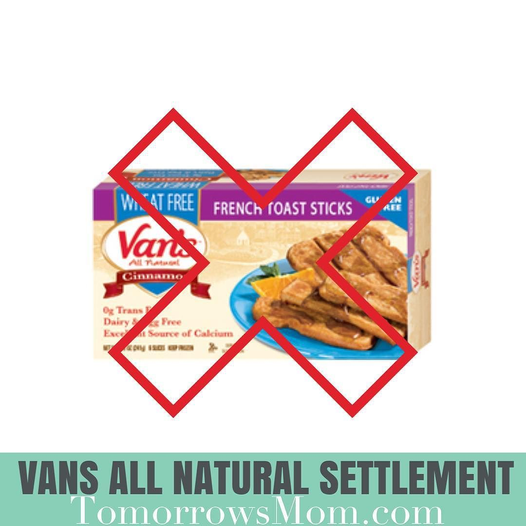 vans frozen french toast