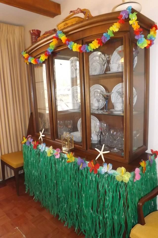 Luau Decorations | Luau decorations, Luau bridal shower, Luau