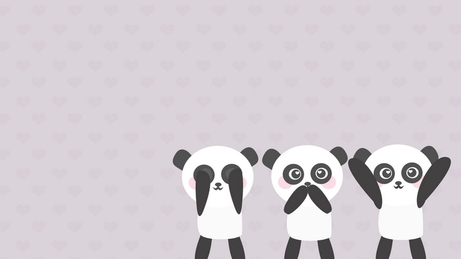 Cute Panda Wallpaper Cartoon