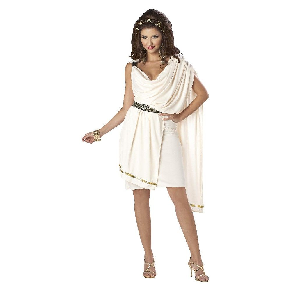 Women\'s Classic Toga Deluxe Costume | Products | Pinterest