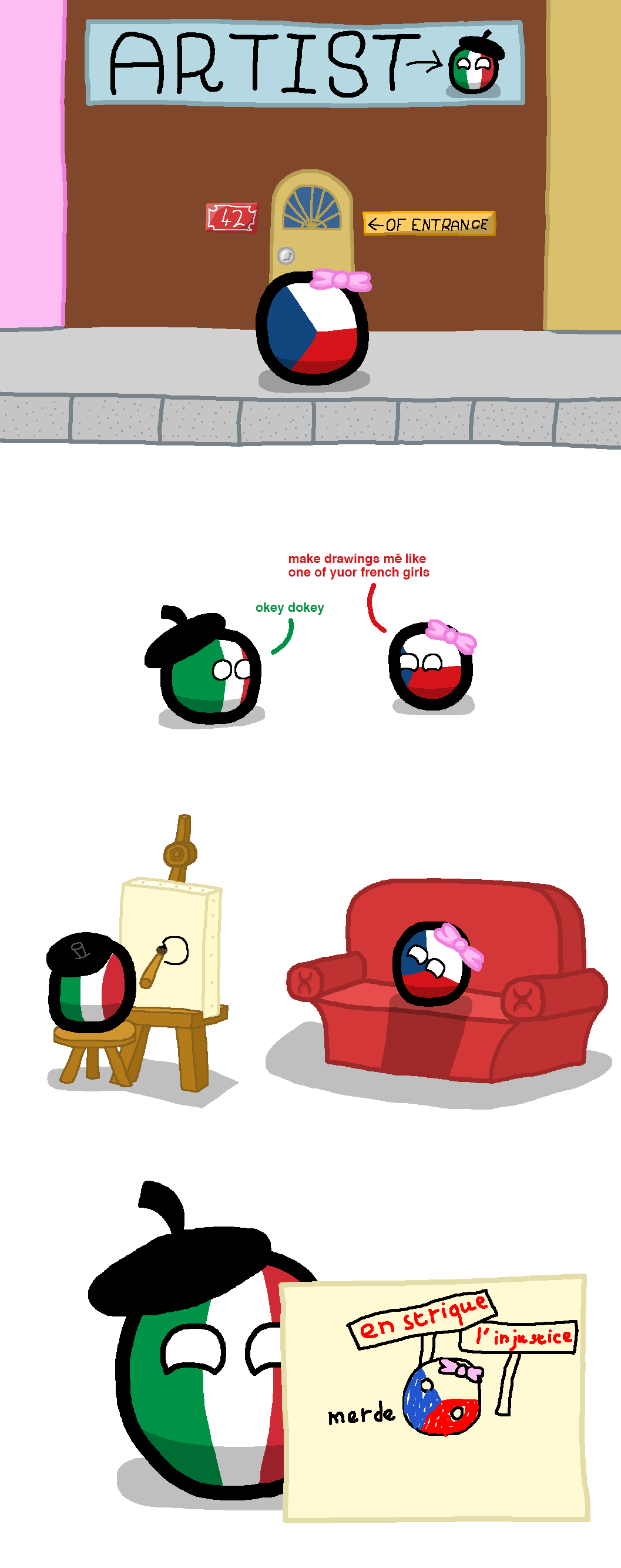 Pin By Wengwah Joshua On Countryballs - Pinterest - Funny