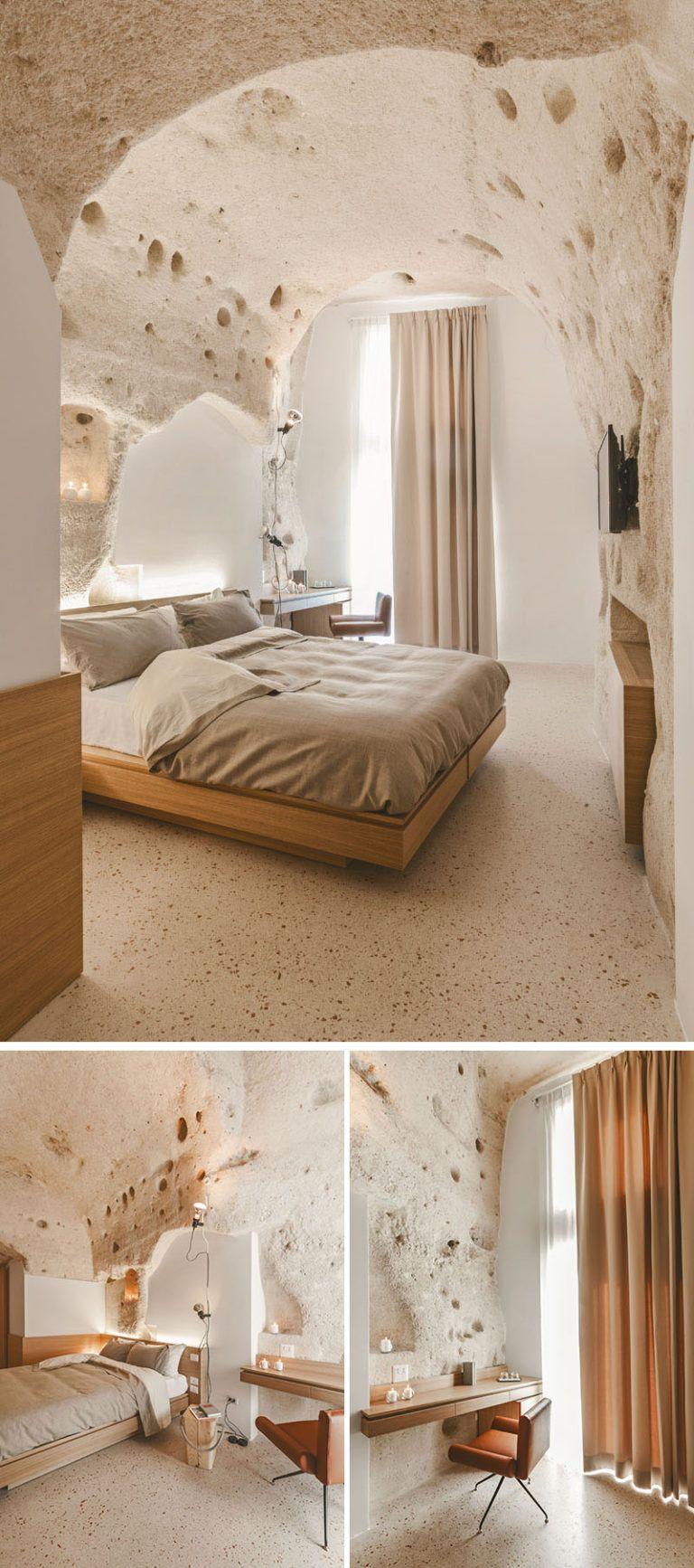 La dimora di metello a hotel in matera italy combines historic cave dwellings with contemporary design