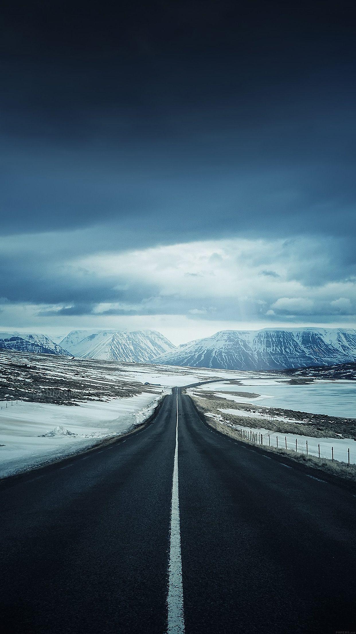 Lonely Mountain Valley Road Iphone 6 Plus Hd Wallpaper Beautiful Roads Travel Wallpaper Mountain Wallpaper