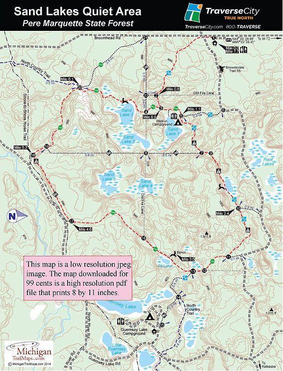 Trailmaps Michigan | hike | Pinterest | Trail maps