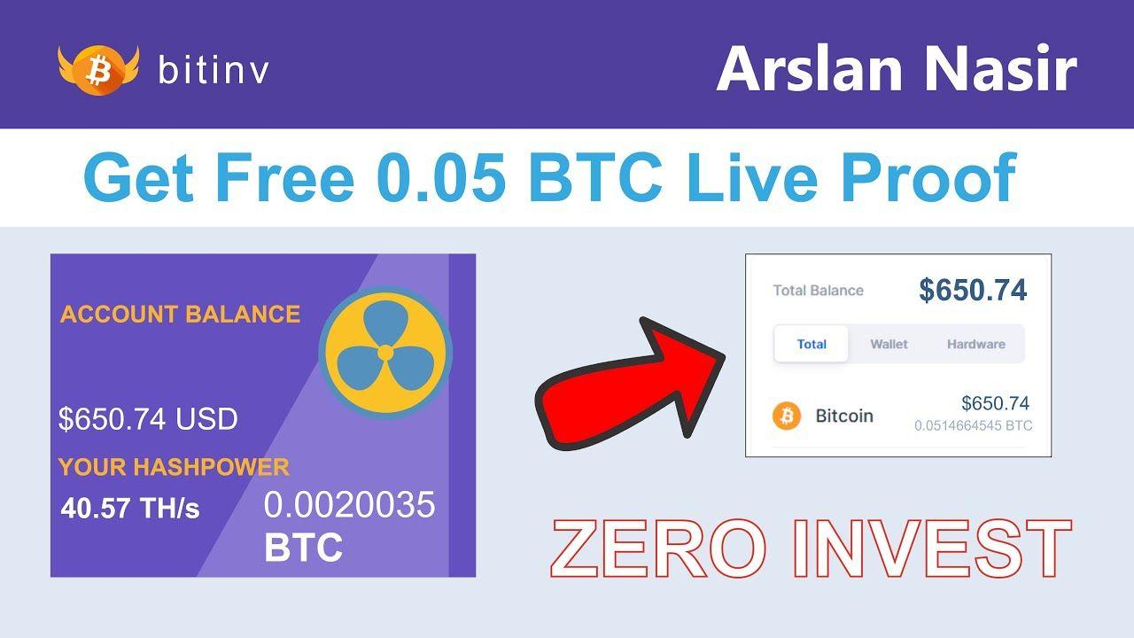 Bitinv Smart Bitcoin Miner Mine Free Bitcoin Get 0 05 Btc Live W Bitcoin Miner Bitcoin Investing