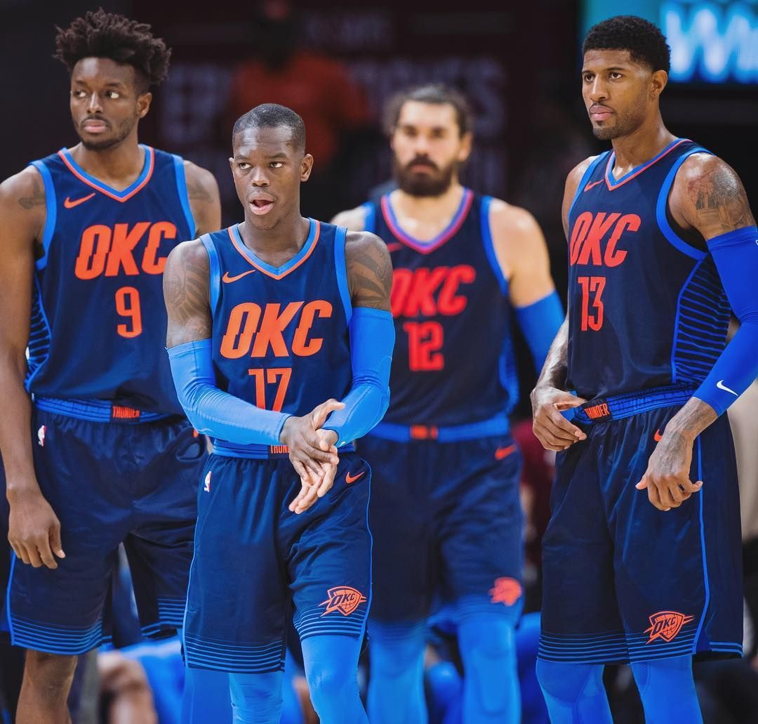 Oklahoma City Thunder On Instagram Take Your Best Shot Oklahoma City Thunder Basketball Okc Thunder Basketball Oklahoma City Thunder