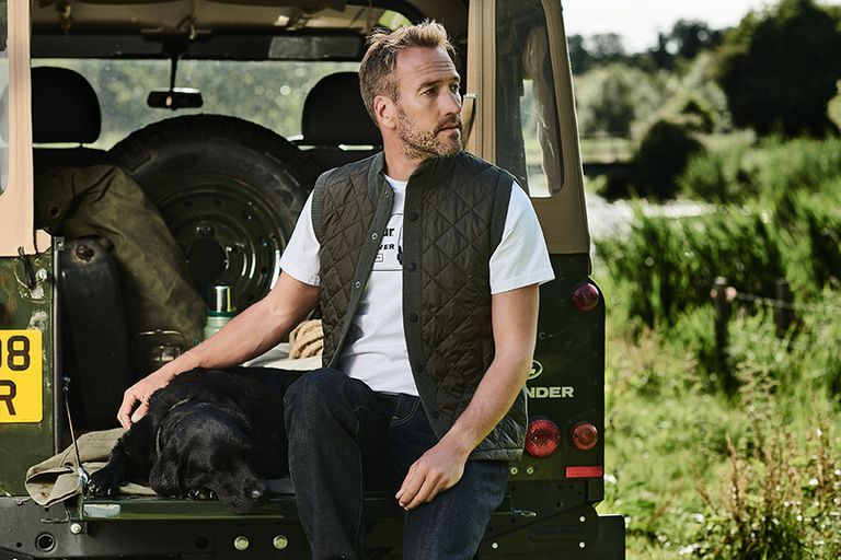 Ben Fogle And Land Rover Team With Barbour To Launch Aw18 Collection Exclusively For John Lewis Land Rover Land Rover Defender Barbour