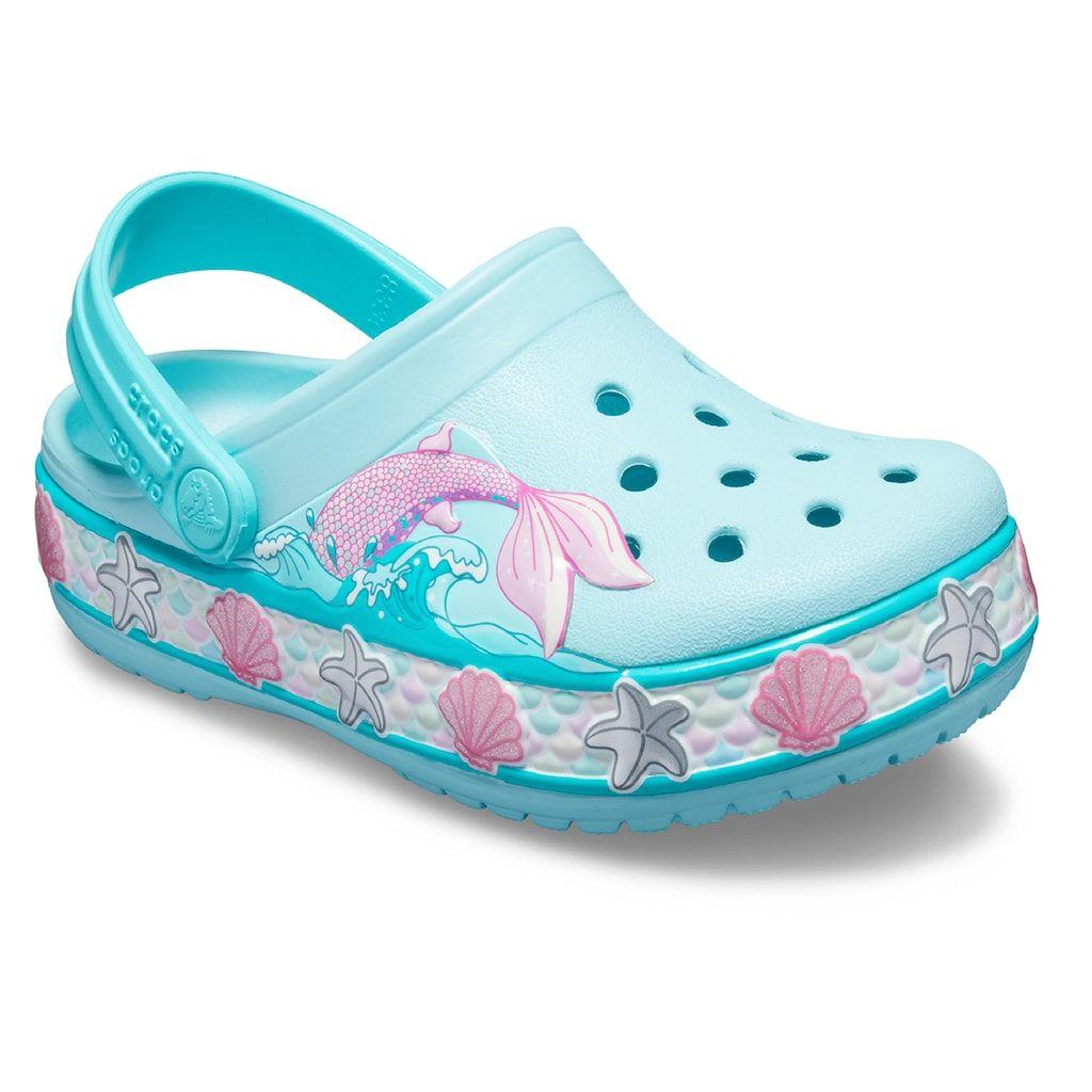 Crocs Mermaid Girls' Clogs | Girls clogs, Crocs, Girls shoes