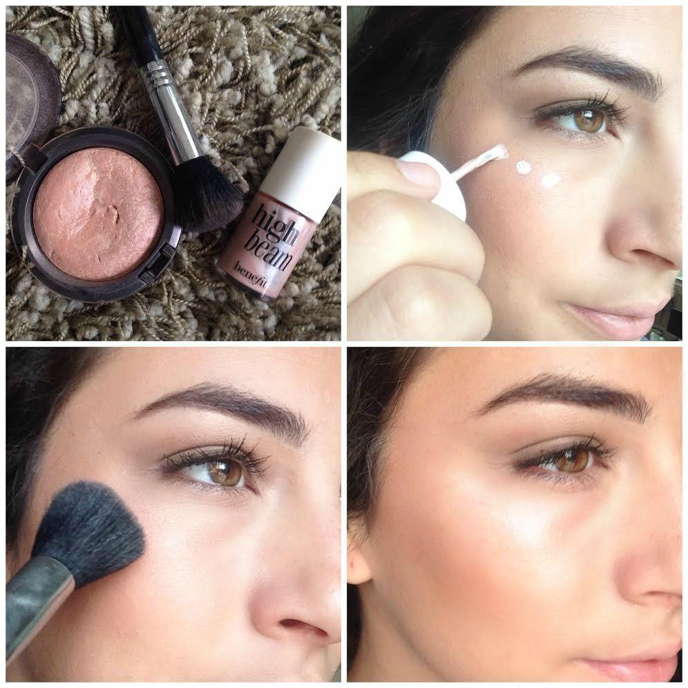 how to find your cheekbones