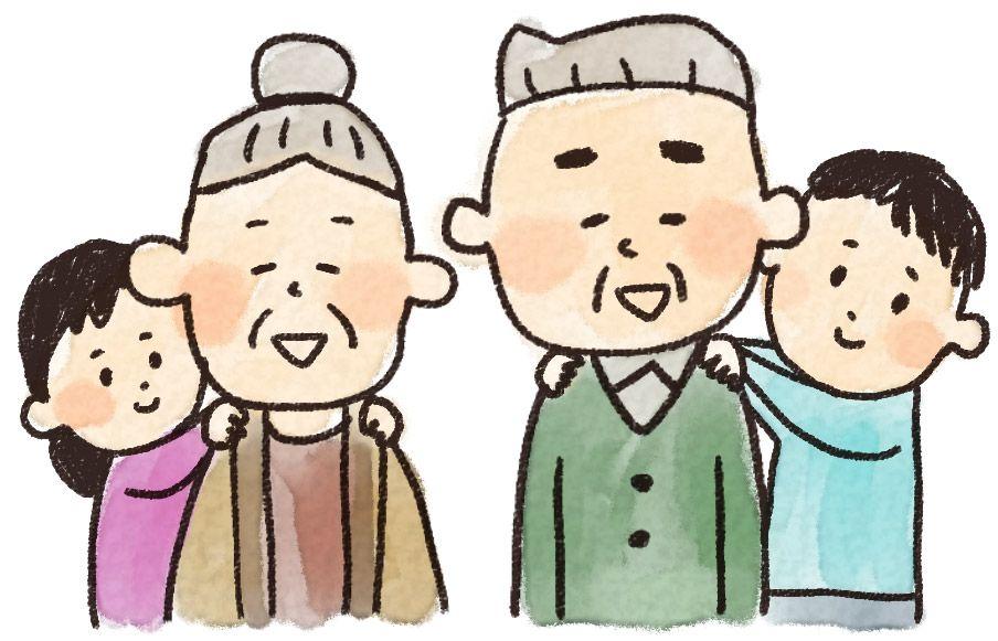 最も検索された 桃太郎 おじいさん おばあさん イラスト イラスト 無料 イラスト 敬老の日