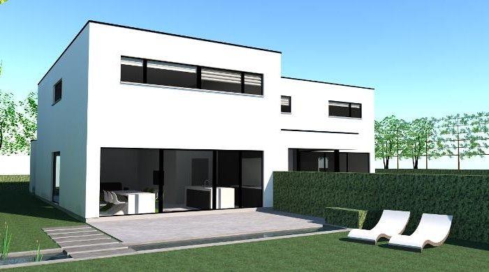 Plat dak huis google zoeken home garden pinterest gevels zoeken en google - Landscaping modern huis ...