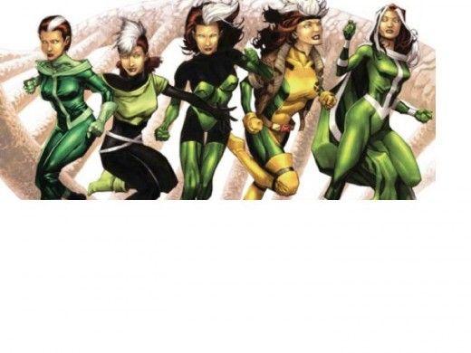 Rogue Costume History Marvel Rogue Rogue Costume Rogue Comics