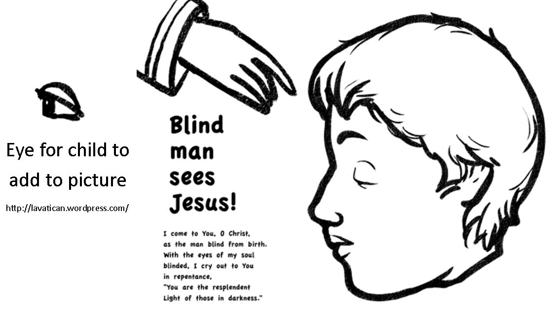 Pin by Dixie on blind man | Bible crafts, Sunday school ...