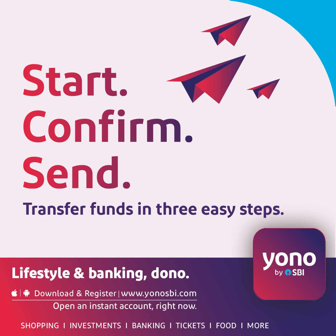 Need To Send Cash Urgently Enjoy Super Quick Funds Transfers With Yono 3 Steps And Done For More Visit Sbiyono Sbi Banking App Banking Investment Banking