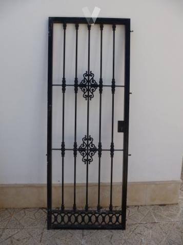 Image result for rejas sencillas de puerta para pared de - Rejas para puertas ...