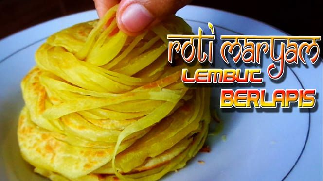 Resep Roti Maryam Canai Paratha Gurih Lembut Berlapis Anti Gagal Oleh Dapur Mai Resep Rotis Resep Resep Roti