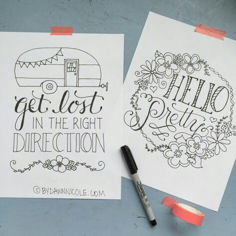 Pin On Lettering Project