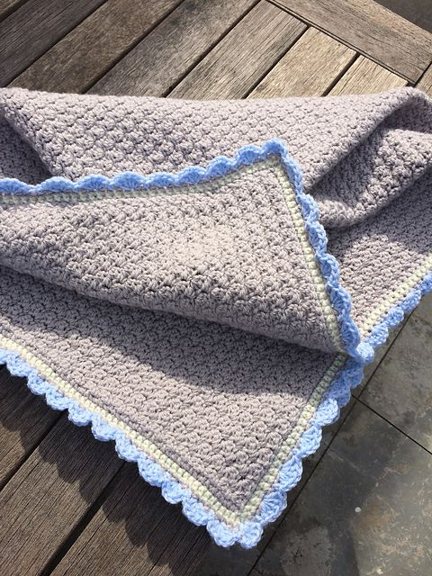 Ravelry: WildIris4me's Baby Blanket Easy~No Holes | Baby blanket, Baby