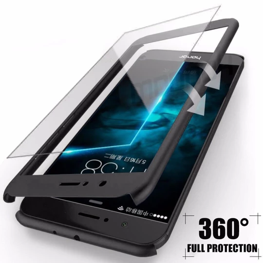 360 Degree Full Cover Cases For Huawei P10 P9 Lite Plus Case With ...