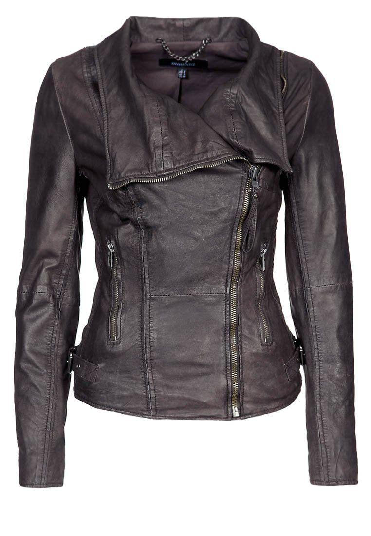 Leren Jas Dames Bruin.Juana Leren Jas Storm Grey Fashion Jackets Clothes For