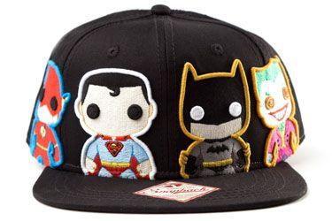Tiendascosmic  Merchandising - Pop Heroes  Gorras - GORRA NEGRA POP HEROES ( FLASH 935980bc010