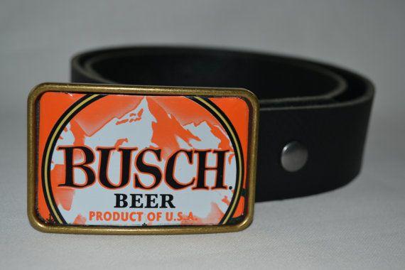 Busch Beer Can Belt Buckle Belt Buckles Beer Beer Can