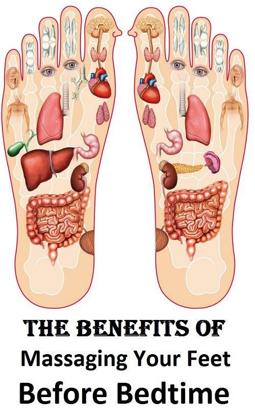 The Benefits Of Massaging Your Feet Before Bedtime # ...