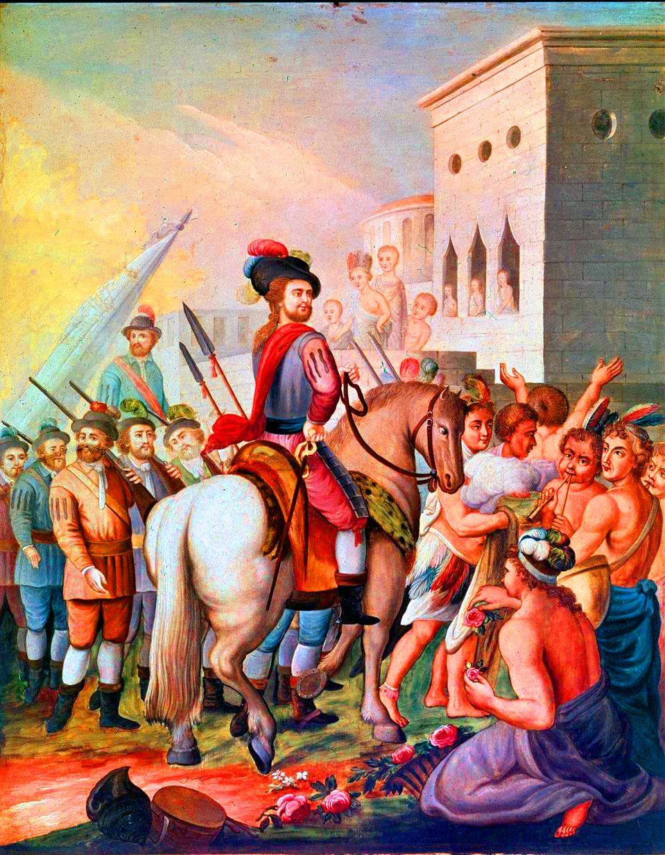 Hernán Cortés in Mexico