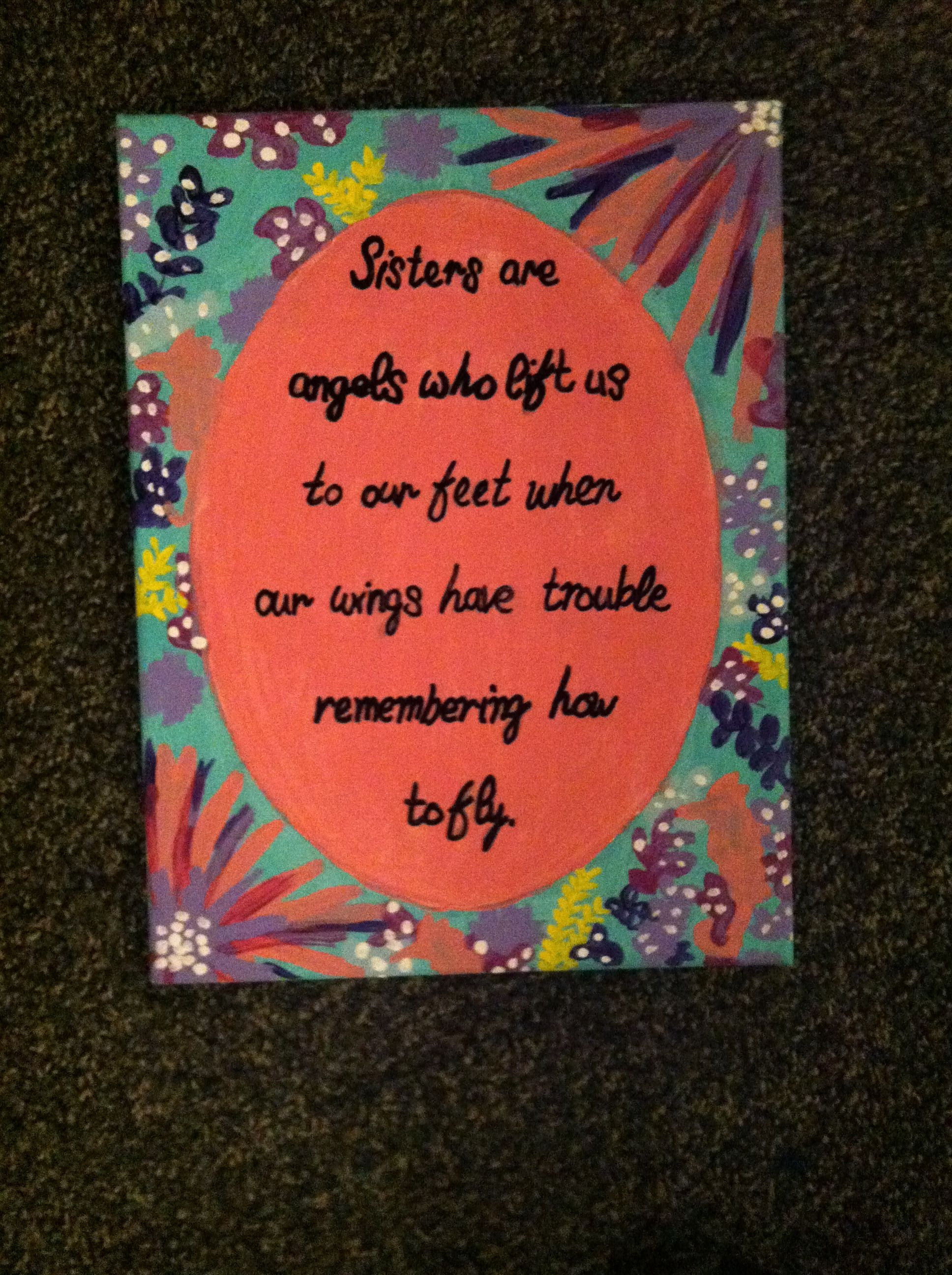 Lilly Pultizer Trippin And Sippin Quote Canvas