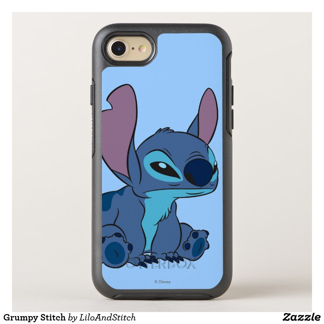 Grumpy Stitch Otterbox Iphone Case Zazzle Com In 2021 Otterbox Iphone Iphone Cases Otterbox Iphone Cases Disney