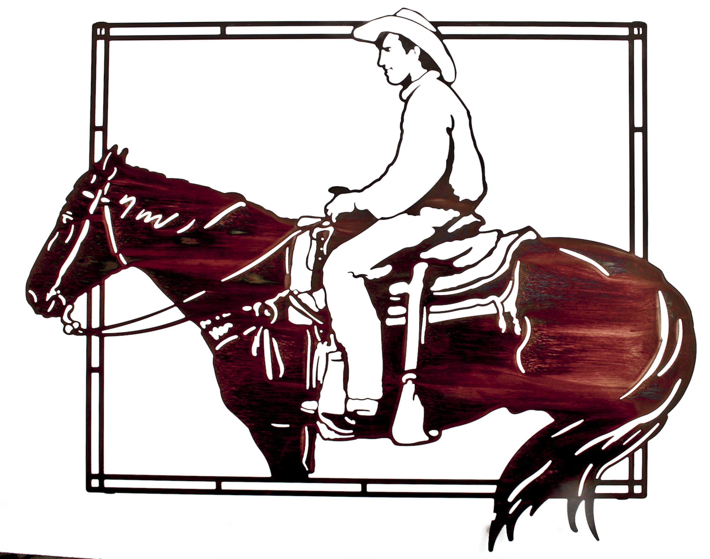 Western Wall Art cowboy wall art western wall art www.rusticeditions | western