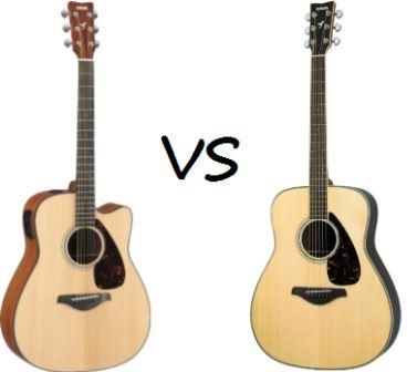 What Is The Difference Between Acoustic Guitar And Electric Acoustic Guitar Acoustic Electric Guitar Guitar Acoustic Guitar