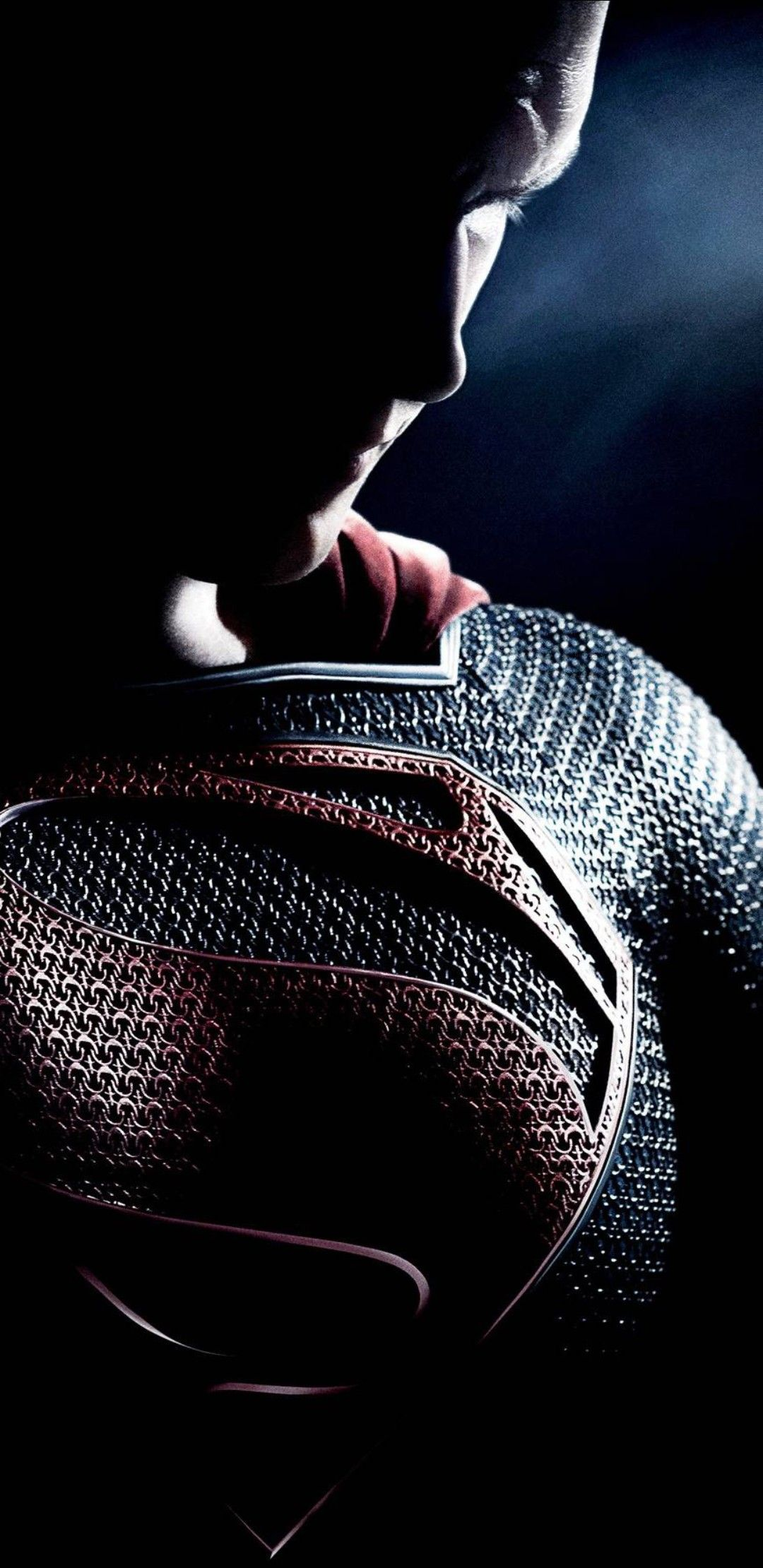 Man Of Steel Textless Poster Zedge Superman Hd Wallpaper Man