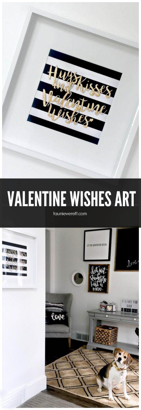 Valentine Wishes Art Pinterest