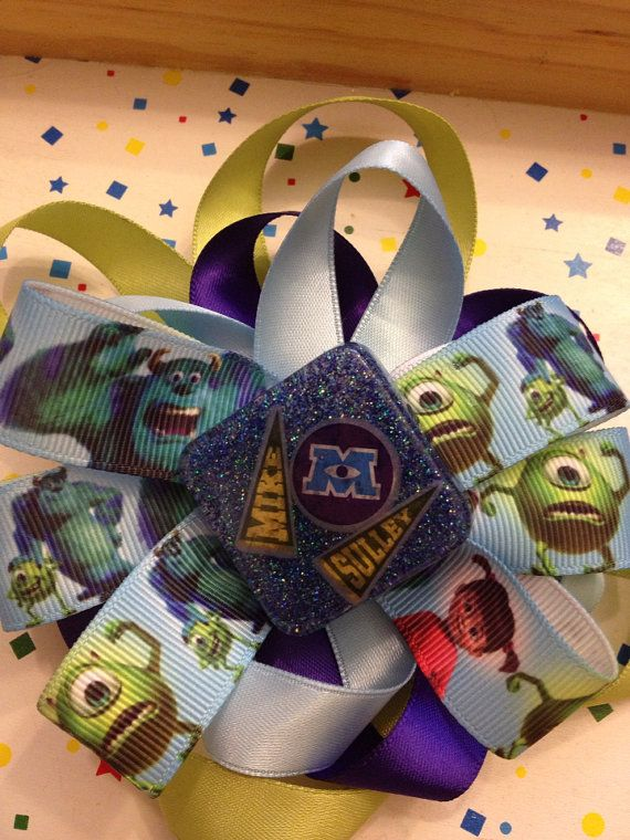 Monsters University Bow on Etsy, $5.50