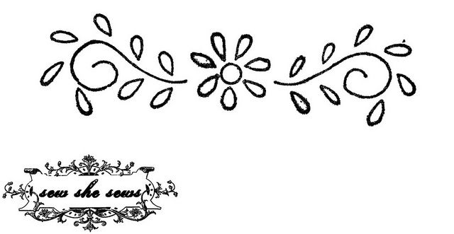 vintage floral embroidery pattern #floralembroidery