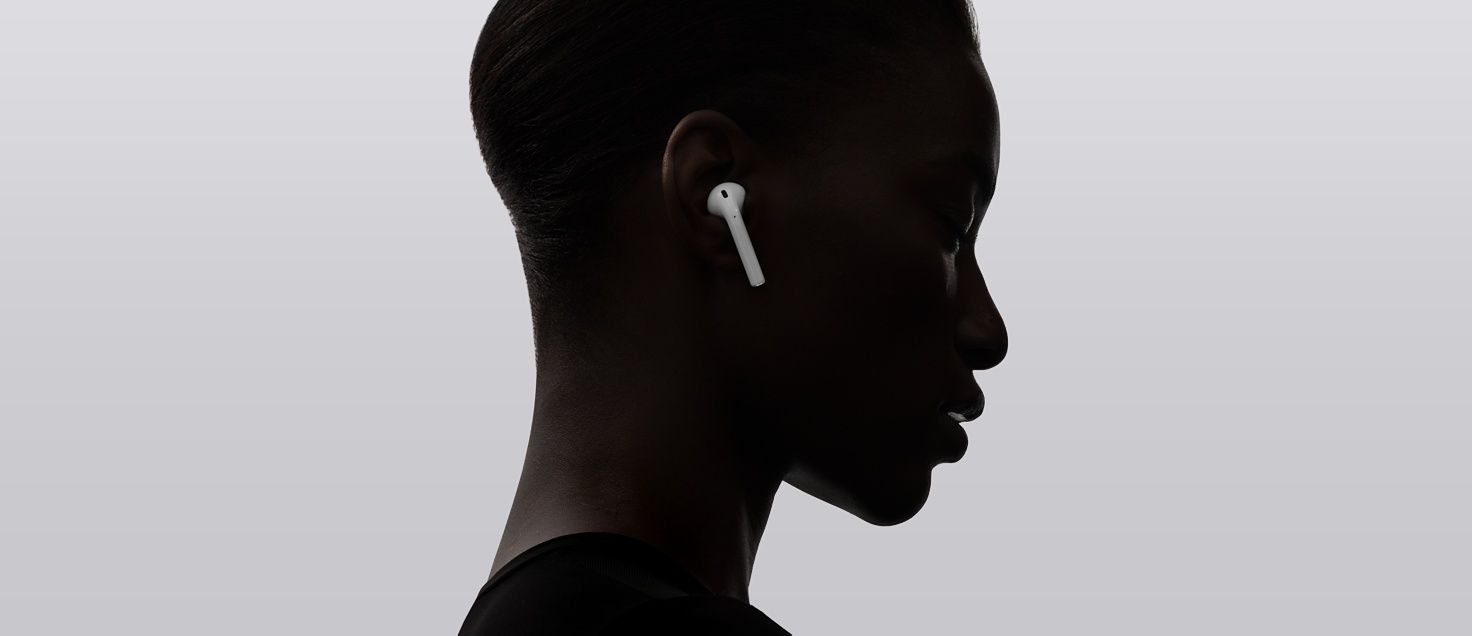 Airpods Let You Adjust Volume And Playback Of Music And Video And Answer Calls Wirelessly Learn More On Apple Com Emotions Design Stuff To Buy